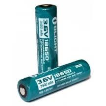 Baterija Olight 18650 2600mAh