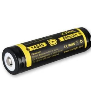Baterija XTAR 14500 800mAh