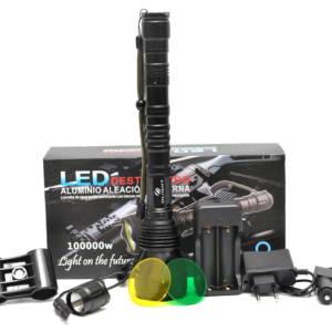 Baterijska lampa 3888 SH komplet